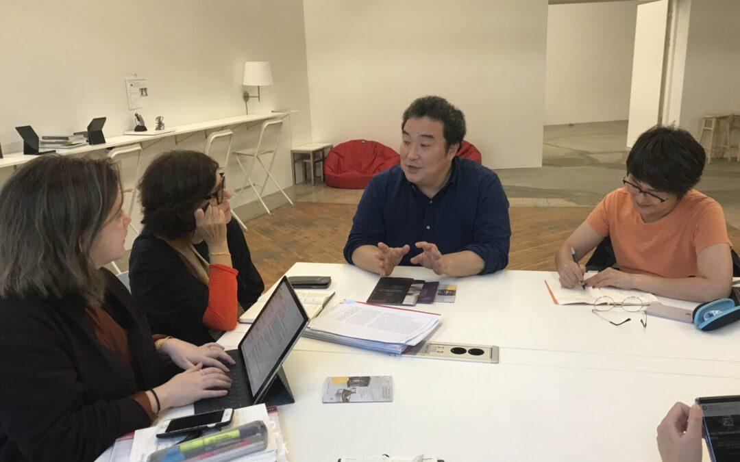 (2019/10/12) Ute Meta Bauer and Kathleen Ditzig, research trip in Seoul and Gwangju